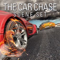 The Car Chase Scene Set Sound Effects